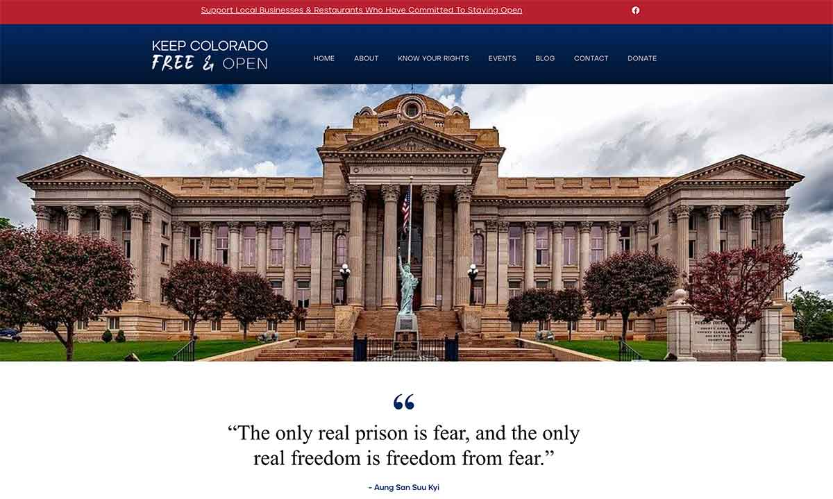 Keep Colorado Free & Open